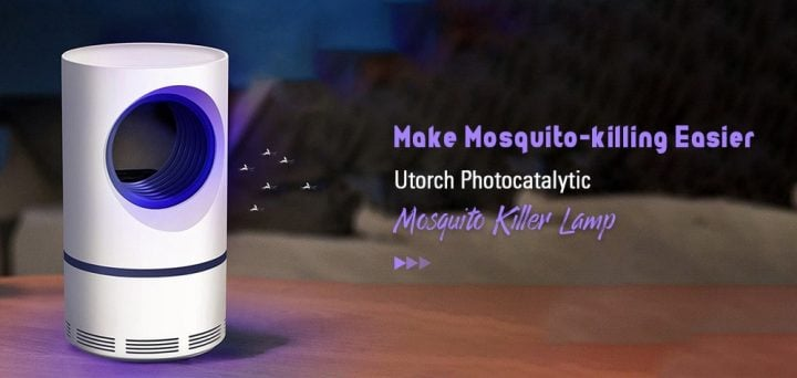 Chollazo lámpara antimosquitos Utorch por 11 euros (Oferta FLASH)