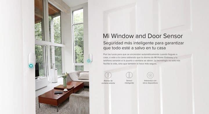 Oferta  sensor de puerta / ventana Xiaomi Mijia por 9 euros (Oferta FLASH)