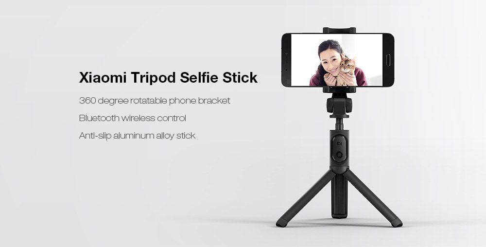 Palo / Trípode Xiaomi para selfies con disparador de oferta por 18 euros (Cupón Descuento)