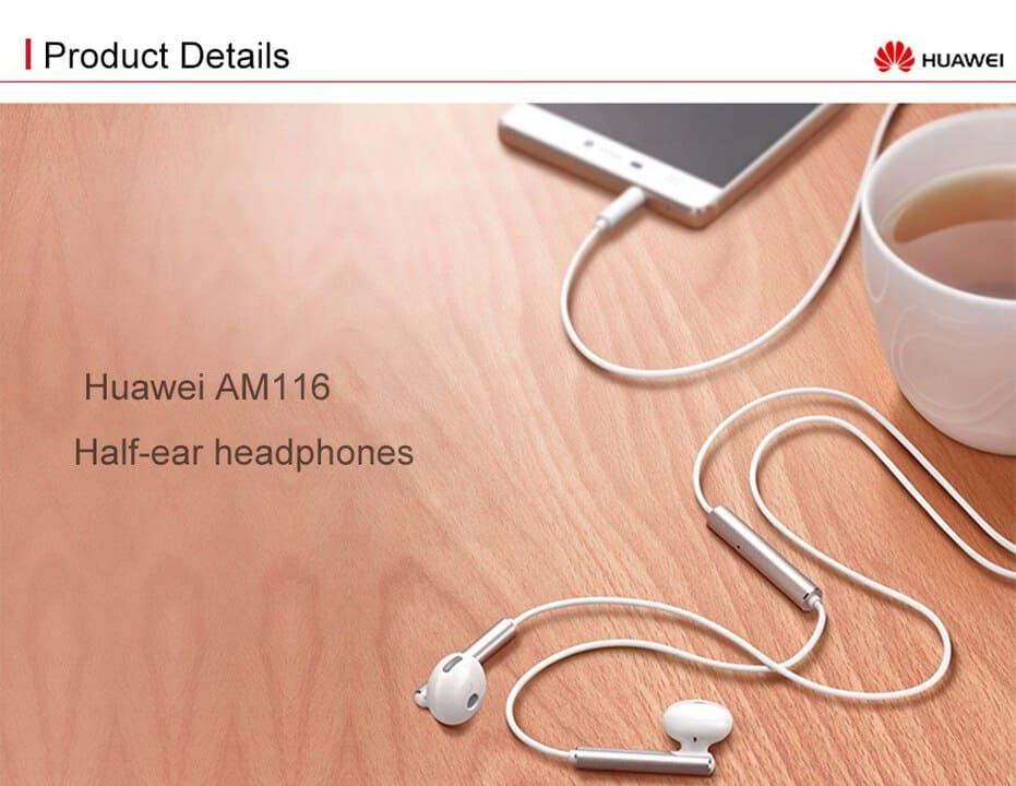 Chollazo auriculares Huawei AM116 por 2 euros (Oferta FLASH)