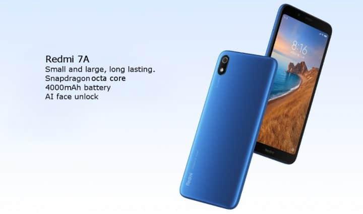 Xiaomi Redmi 7A comprar barato al precio minimo de oferta con cupón descuento. Con envío GRATIS Libre de aduanas para España.