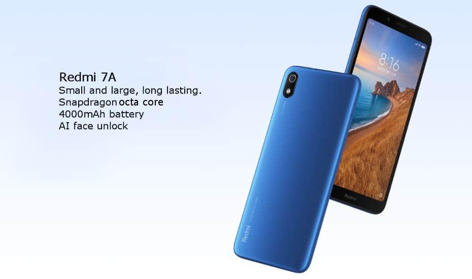 Xiaomi Redmi 7A Global de oferta por 82 euros (Cupón Descuento)