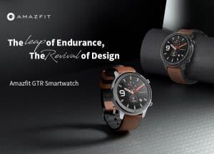 Smartwatch Xiaomi Amazfit GTR 47mm de oferta por 85 euros desde España