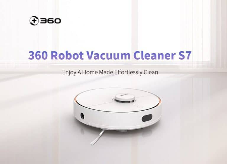 Robot aspirador 360 S7 de oferta por 269 euros desde España (Cupón Descuento y Review)