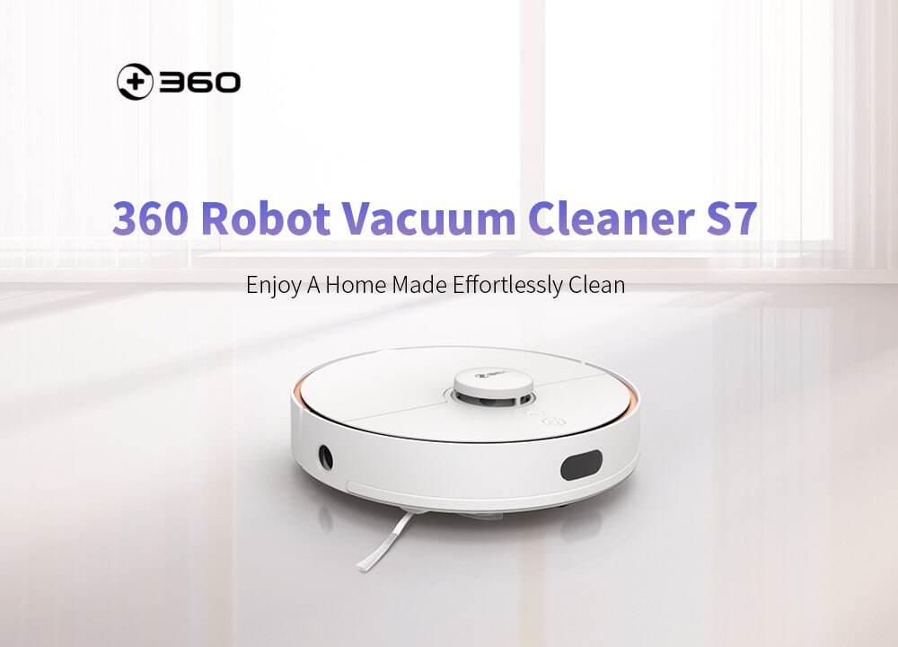 Comprar barato robot limpiador 360 S7 de oferta por 363 euros (Cupón Descuento)