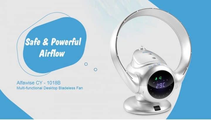 Oferta ventilador sin aspas Alfawise por 79 euros en Amazon (Cupón Descuento)