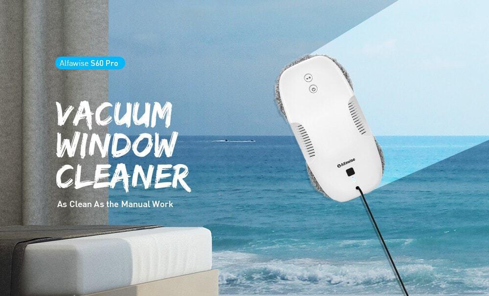 Oferta Robot limpiador de ventanas Alfawise S60 PRO por 132 euros (Oferta FLASH)