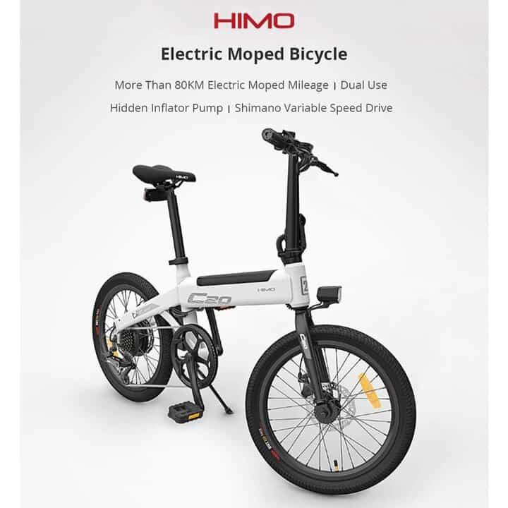 Oferta Bicicleta eléctrica Xiaomi HIMO C20 por 655 euros desde Europa (Cupón Descuento)