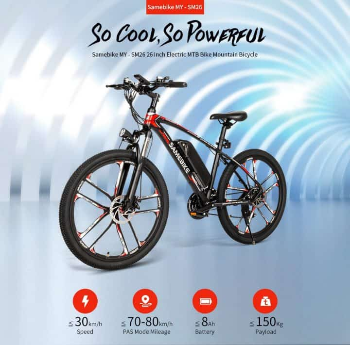 Samebike SM26 comprar barato al precio minimo de oferta con cupón descuento. Con envío GRATIS Libre de aduanas para España.