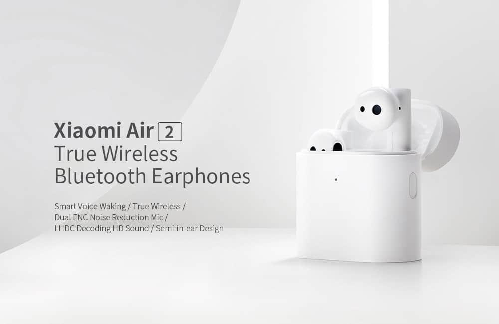 Xiaomi Mi True Air 2 TWSEJ02JY de oferta por 72 euros (Cupón Descuento)