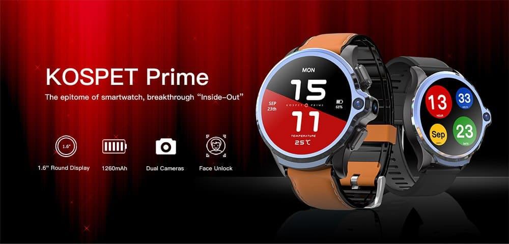 Oferta reloj inteligente KOSPET Prime 4G por 138 euros (Oferta FLASH) 1 Kospet prime