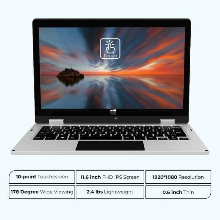 XIDU la nueva marca low cost de portátiles con pantalla táctil