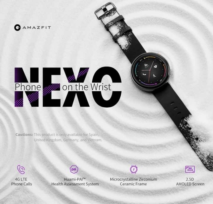 Amazfit Nexo 4G de oferta por 182 euros (Oferta FLASH)
