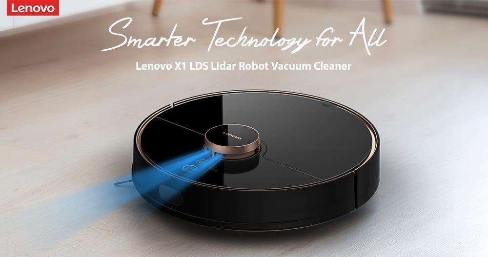 Robot aspirador Lenovo X1 LDS de oferta por 391 euros (Oferta FLASH)
