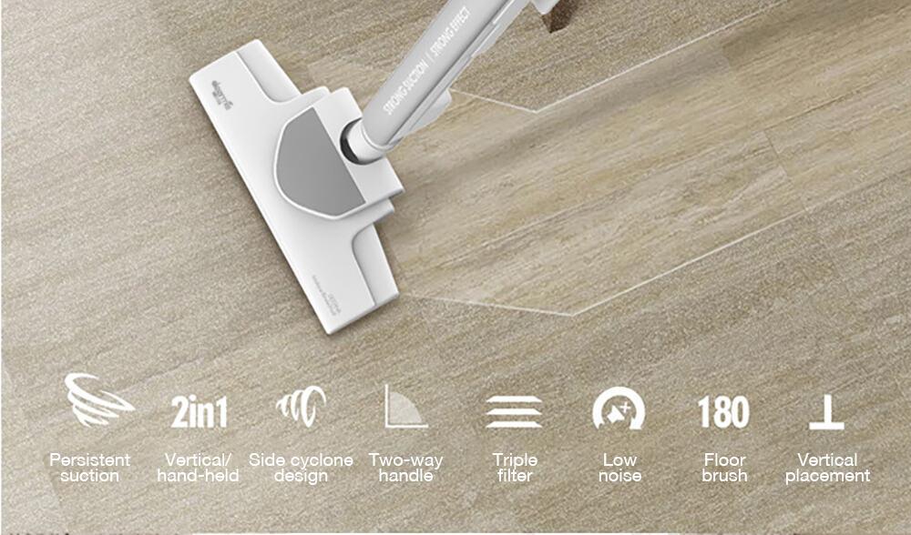 Oferta Aspiradora Xiaomi Deerma DX700 por 49 euros (Cupón Descuento)