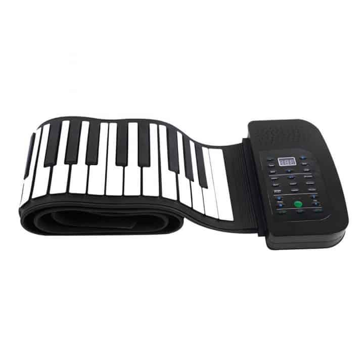 Oferta Teclado de piano enrollable 88 teclas ammoon por 40 euros (Cupón Descuento)