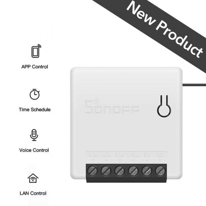 Oferta mini interruptor inteligente OWSOO SONOFF por 5,99 euros (Cupón Descuento)