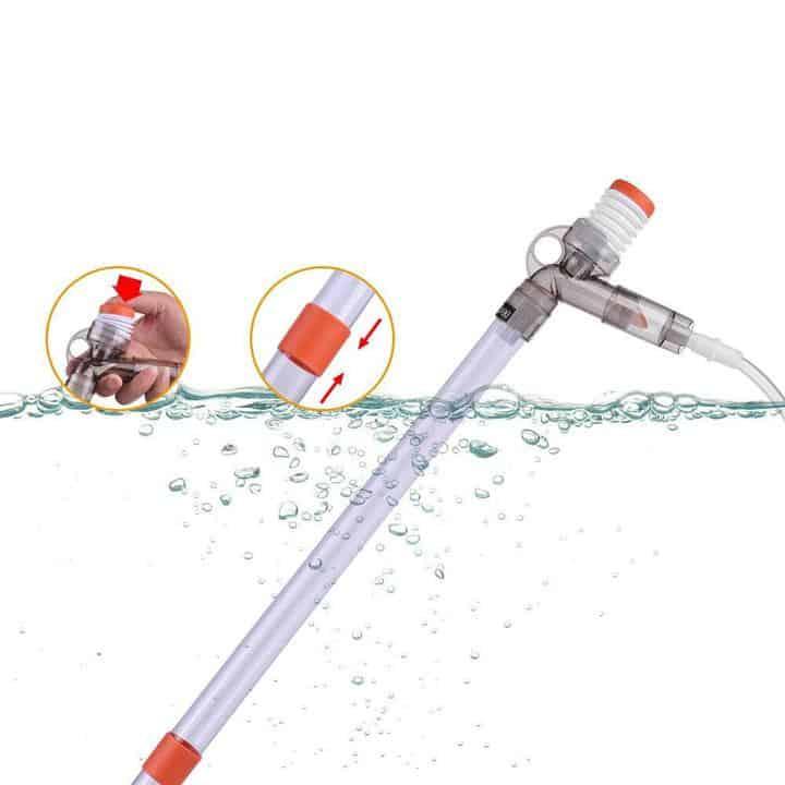 Oferta Sifón limpiador para acuarios Dadypet por 11 euros (Cupón Descuento)