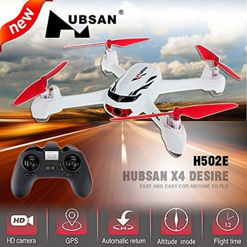 Oferta dron Hubsan X4 H502E por 47 euros (Cupón Descuento)