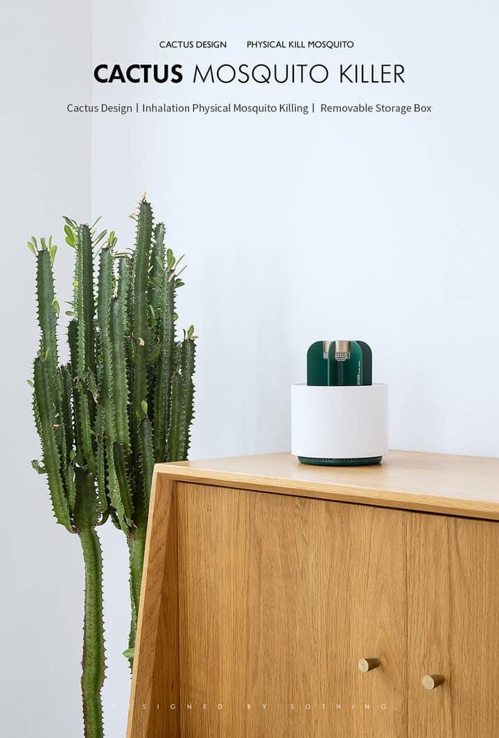 Xiaomi Sothing Cactus antimosquitos de oferta por 13 euros (Cupón Descuento)