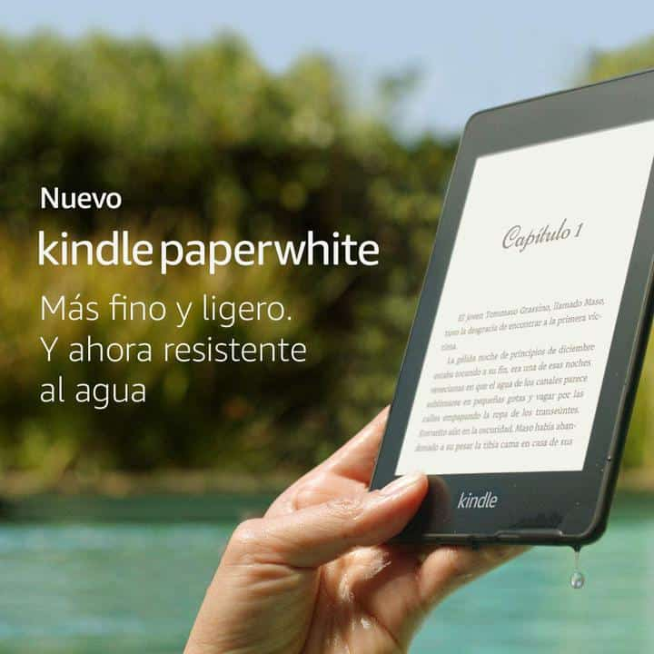 Oferta Kindle Paperwhite por 99 euros (Oferta FLASH)