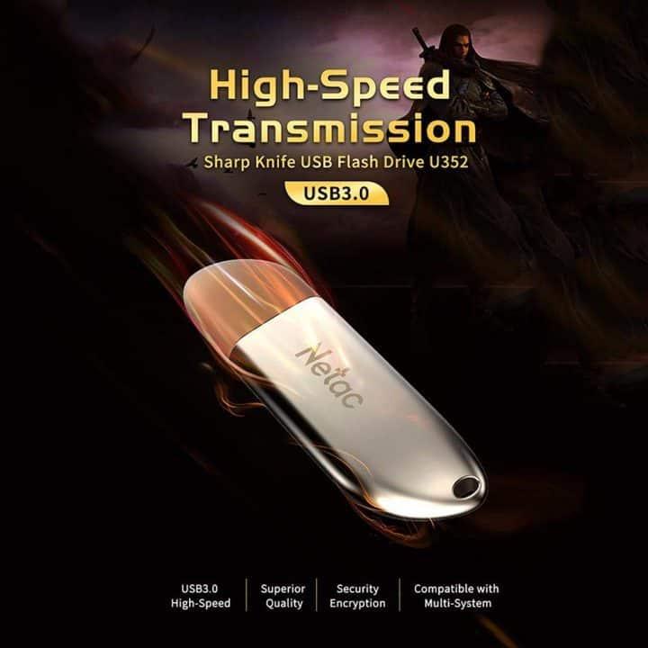 Chollo Pendrive USB Netac 64 Gb por 9 euros (Cupón Descuento)