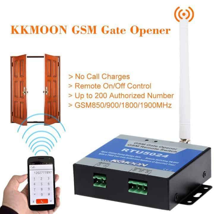 Chollazo Conmutador eléctrico GSM KKMOON por 24 euros (Cupón Descuento)