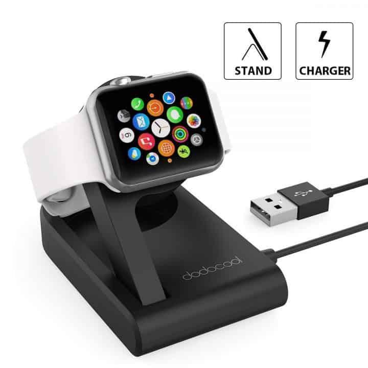 Oferta cargador magnético para Apple Watch dodocool por 20,99 euros (Cupón Descuento)