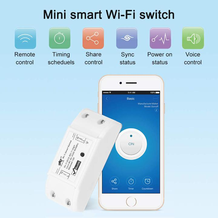Oferta adaptador interruptor Wifi OWSOO por 5,99 euros (Cupón Descuento)