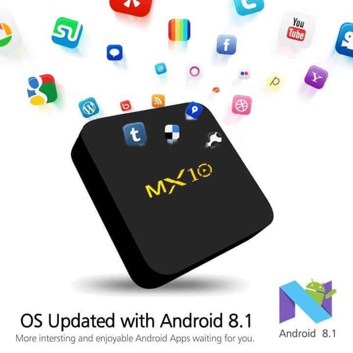 Oferta Box Android MX10 64GB por 48 euros (Cupón Descuento)