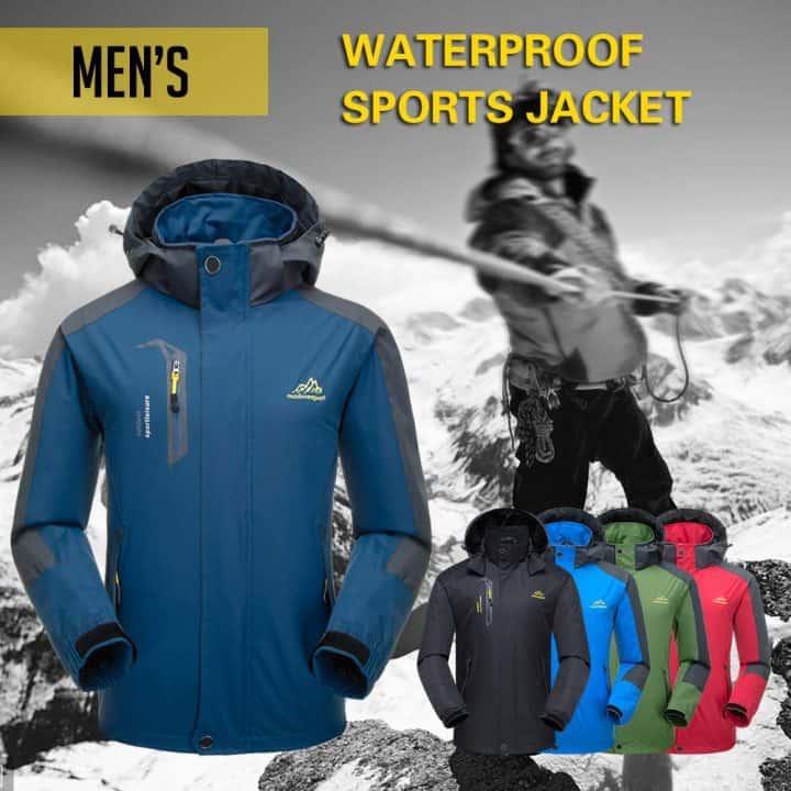 Oferta chaqueta de montaña impermeable con capucha Lixada por 25,99 euros (Cupón Descuento)