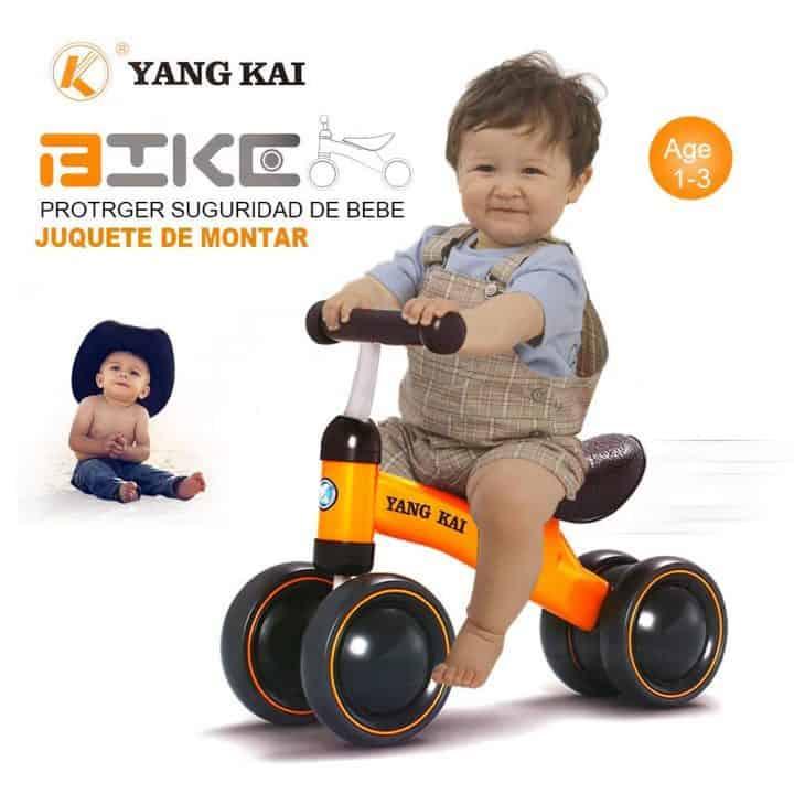 Oferta Triciclo para aprender a andar Goolsky Yang Kai Q1 por 25 euros (Cupón Descuento)
