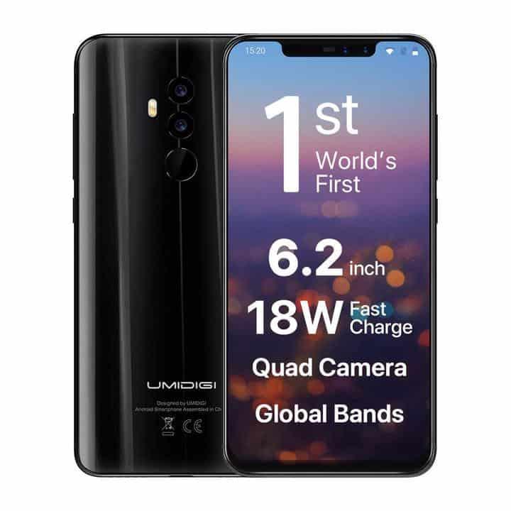 Oferta smartphone UMIDIGI Z2 por 254 euros desde España (Cupón Descuento)