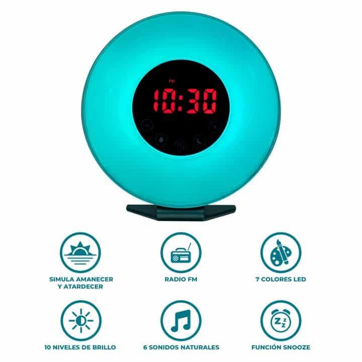 Radio Reloj Despertador Lumistand de oferta por 24 euros (Oferta FLASH)