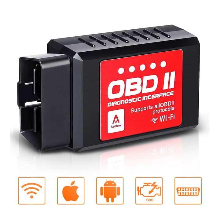 Oferta Dispositivo Wifi diagnóstico coche OBD2 Audew por 10 euros (Cupón Descuento)