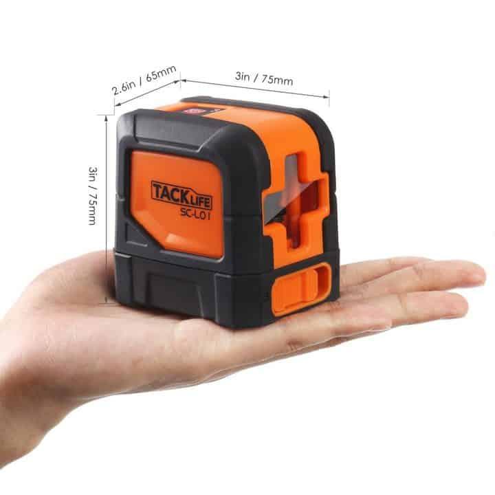 Oferta nivel l ser tacklife sc l01 por 29 99 euros cup n - Nivel laser barato ...