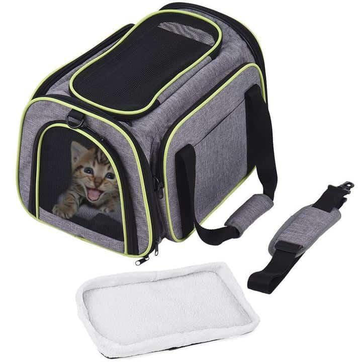 Oferta Transportín para gatos o perros Dadypet por 24 euros (Cupón Descuento)