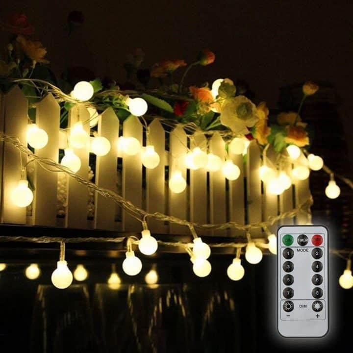 Chollo Tira de luz LED de jardín 10 metros Tomshine por 11 euros (Cupón Descuento)