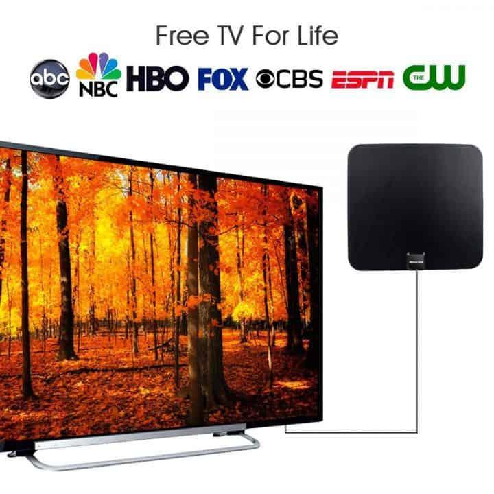 Oferta Antena de TV digital para interior Morpilot por 8,99 euros (Cupón Descuento)