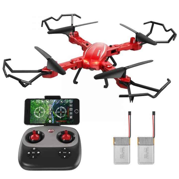 Chollo Dron Plegable FPV GoolRC T5W PRO por 28,99 euros (Cupón Descuento 50%)