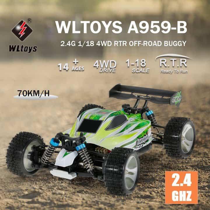 Oferta Buggy Radiocontrol Wltoys A959-B por 58 euros (Oferta FLASH)