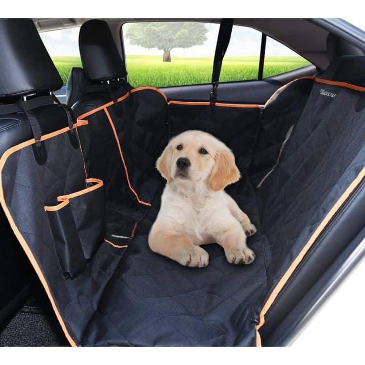 Oferta Protector para coche para perros Dadypet por 22 euros (Cupón Descuento)
