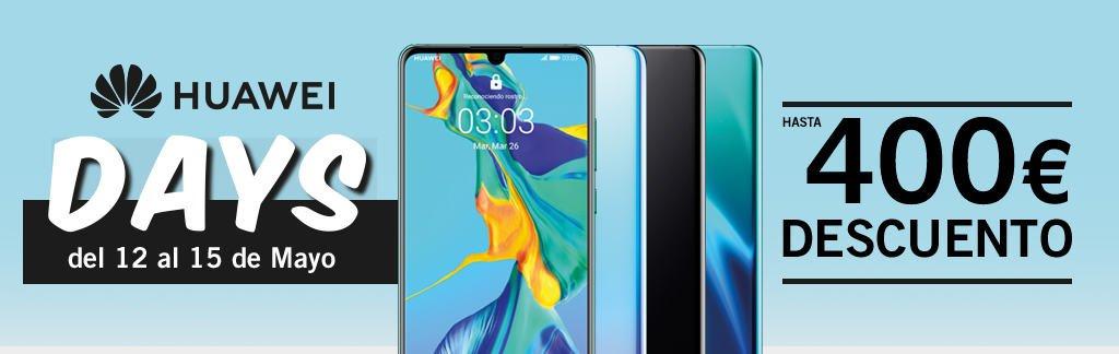 Días Huawei en PhoneHouse (Hasta 400 euros de descuento)