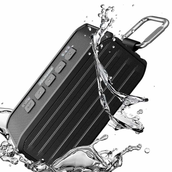 Chollazo: Altavoz bluetooth impermeable Techvilla por 13 euros (50% Descuento)