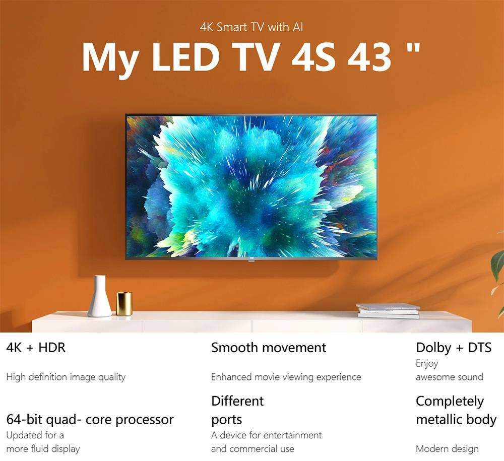 Smart TV Xiaomi Mi TV 4S al mejor precio desde España 7 xiaomi mi tv 4s