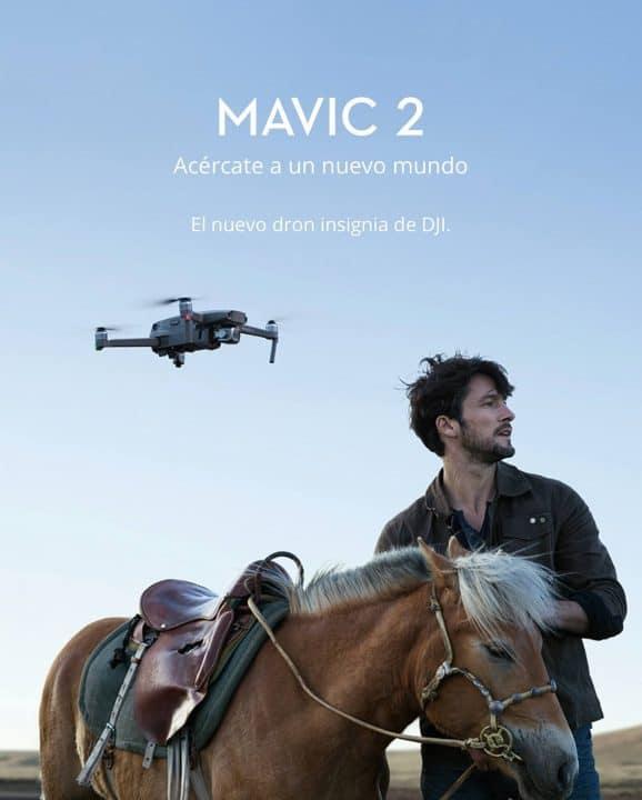 Oferta Dron DJI Mavic 2 por 1039 euros (Cupón Descuento)