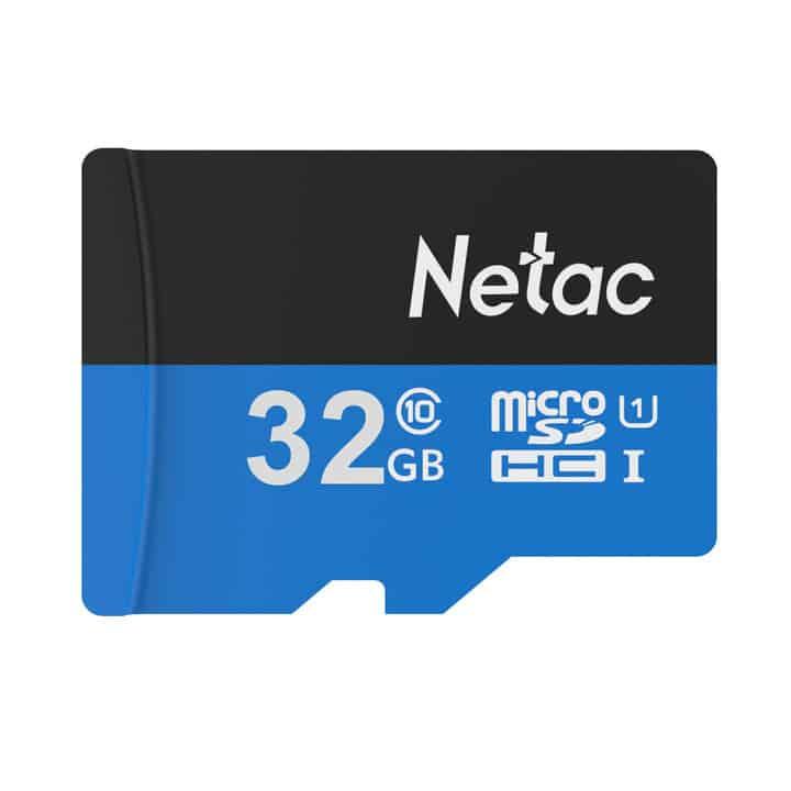Chollo MicroSD Netac P500 clase 10 32 Gb por 8 euros (Oferta FLASH)
