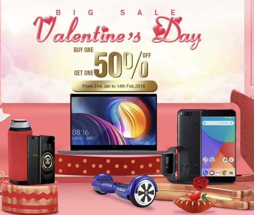 Grandes Ofertas de San Valentín en GeekMaxi