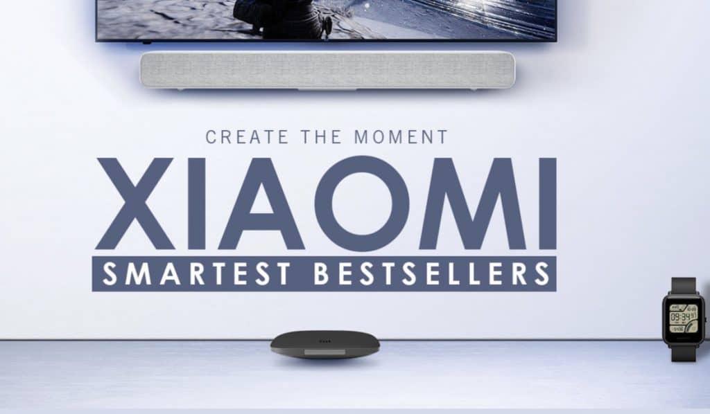 Ofertas de la tienda oficial de Xiaomi en Gearbest. Precios muy locos
