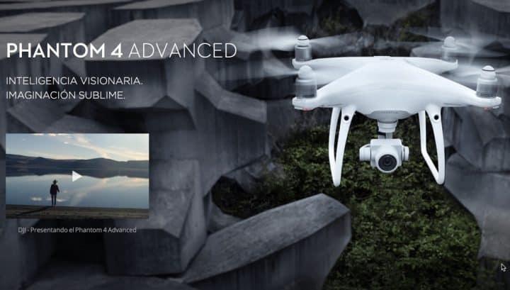 Oferta drone DJI Phantom 4 Advanced por 915 euros (Cupón Descuento)